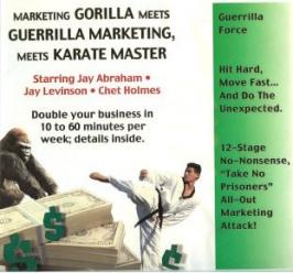 Jay Conrad Levinson and Chet Holmes – Guerrilla Marketing Meets Karate Master