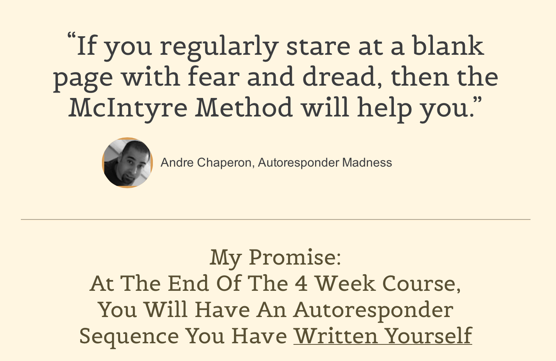 Complete: McIntyre Method