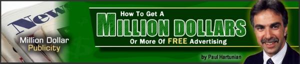 Paul Hartunian - Million Dollar Publicity Kit