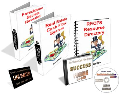 Monica Main – Real Estate Cash Flow System